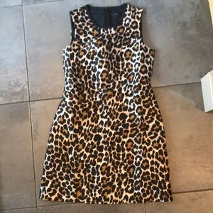 JCrew Leopard dress size 2